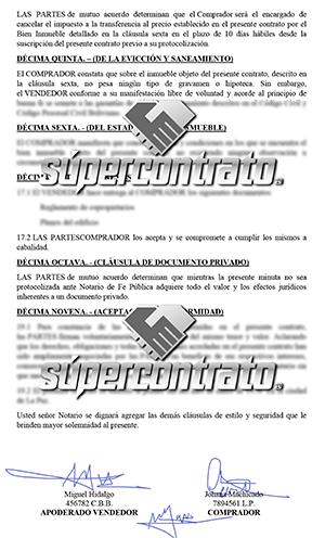 Ejemplos de contratos de compraventa de vehículo